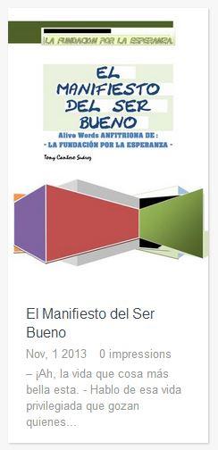 El Manifiesto del Ser Bueno cover icon