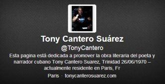 @TonyCantero - Twitter