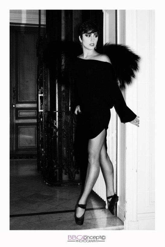 Le cygne noir, Celine Cipolat - Danseuse étoile - by Eva Moreno BBGC for Tony Cantero Suárez