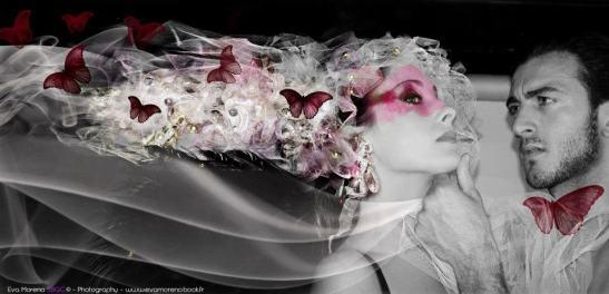 Les nouveaux romantiques, Aurélie Niveau y Anthony Sicot by  Eva Moreno Photographiste for Tony Cantero Suárez