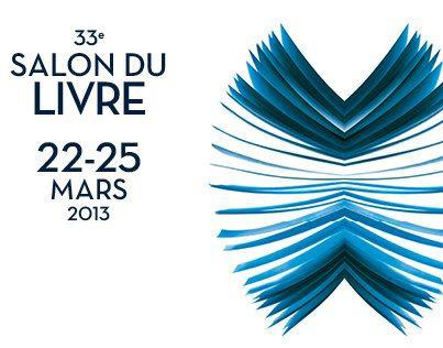 33 Salon du Livre 22- 25 mars 2013 logo
