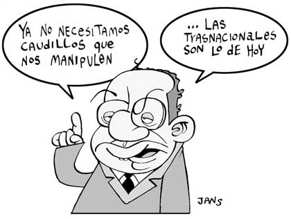 Cartoon - Caudillos - Jans