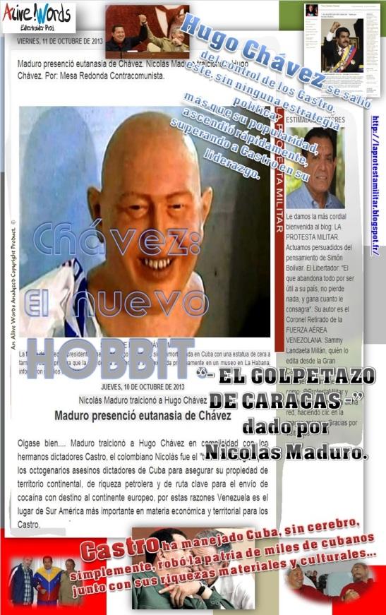 """""""- EL GOLPETAZO DE CARACAS -"""" dado por NicolásMaduro. Alive & Tony Cantero Suárez"""