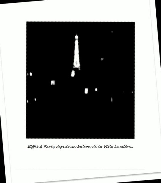Eiffel à Paris, depuis un balcon de la Ville Lumière by Tony Cantero Suárez. last version