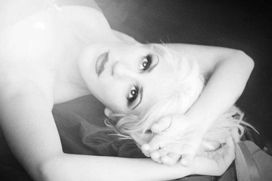 Las blancas nieves del alma, model  Arianna Pinton for Tony Cantero Suárez