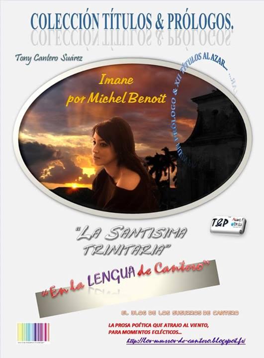 UN PROLOGO & XII TÍTULOS AL AZAR… del N° I año I, Abril 2013 de la revista literario-publicitaria T&P COLECCIÓN TÍTULOS & PRÓLOGOS Back Cover.