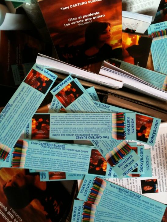 Oleo al poniente - Los versos que quiero. Un producto completo a la espera de distribuidores en España & Americ