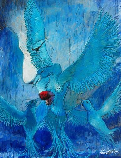 Bleu dream by Vincent Tessier for Tony Cantero Suárez