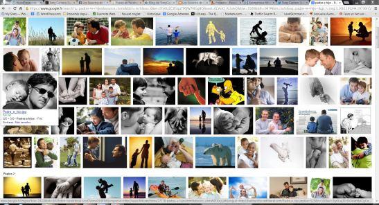 Capture - padres e hijos Google images