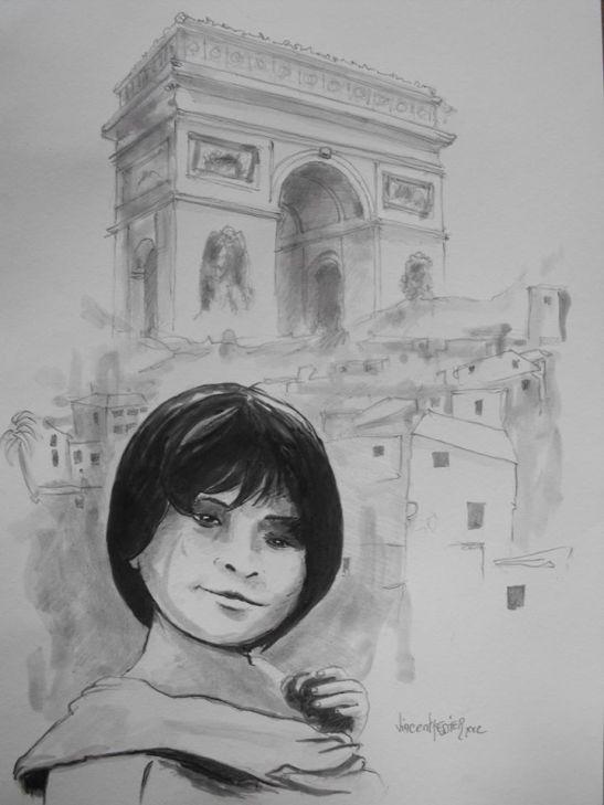 Jusqu'a Paris by Vincent Tessier for Tony Cantero Suárez