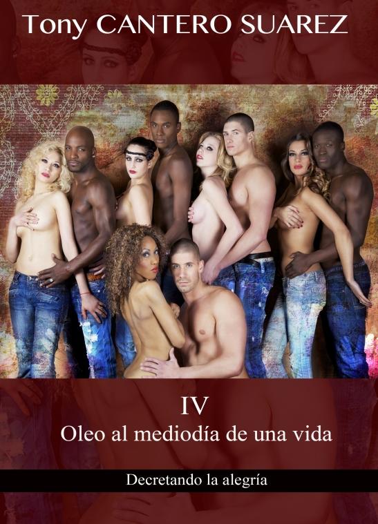 TONY COUVERTURE IV- Oleo al mediodía de una vida... Maqueta de caratula by Eva Moreno