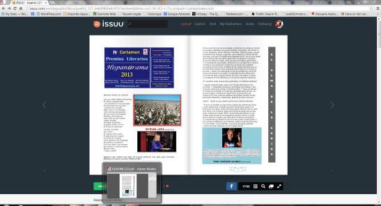 Capture Revista Guatiní N° 127 agosto 2013 Tony Cantero Suárez