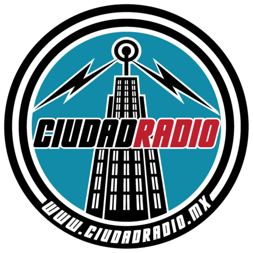Logo de la emisora Ciudad Radio, de Mexico City