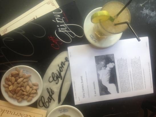 El mojito del Café Gijon de Madrid 120813