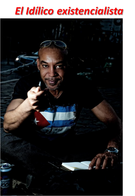 Foto de Tony Cantero Suárez by Ariel Arias en el libro de la Antología Poética Grupo Da Capo - Black Diamond Editions