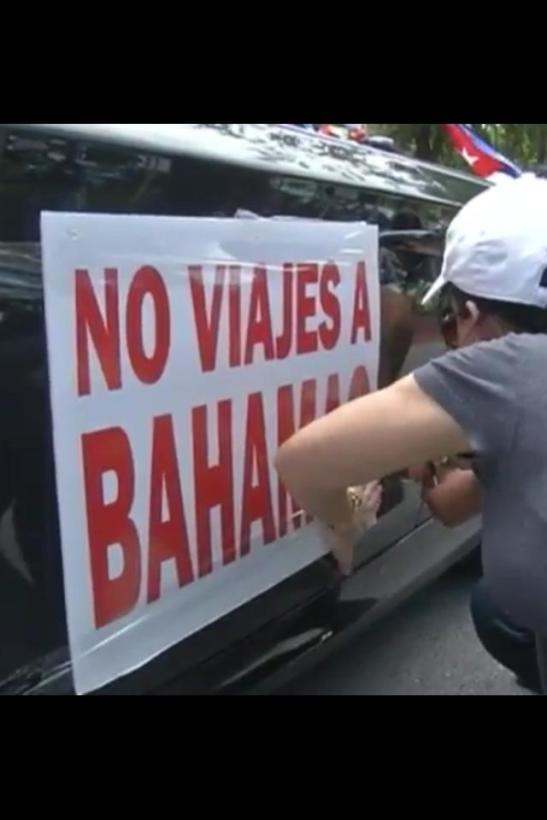 No más viajes a bahamas mientras continuen las torturas a cubanos en esa isla