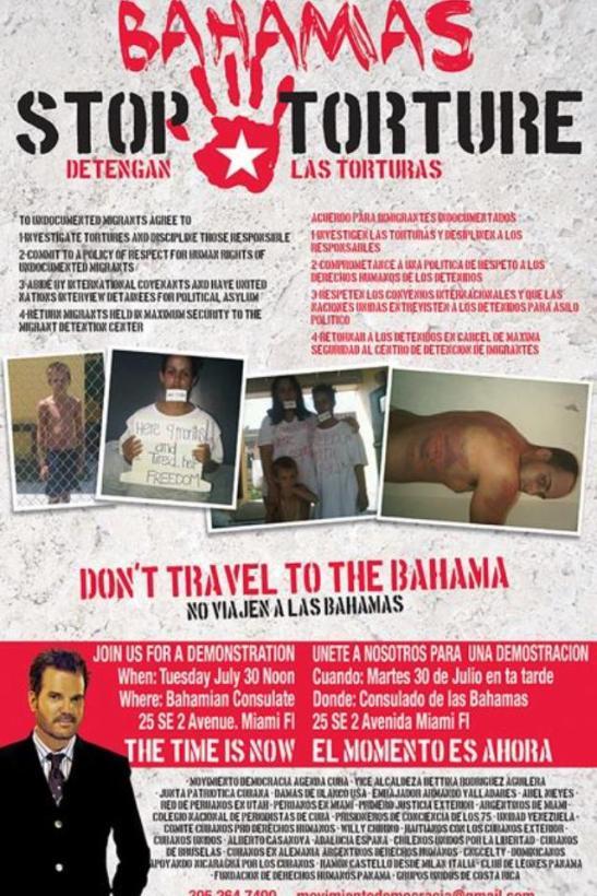 Stop cubans torture in Bahamas cartel