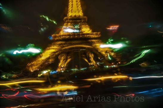 Paris the City light — en Tour Eiffel. by Ariel Arias for Tony Cantero Suárez