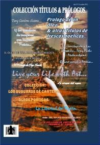 Caratula de Prólogo de un óleo & otros títulos de frescos poéticos