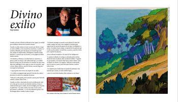 """""""Divino Exilio"""" publicado en la revista de asignaturas cubanas Misceláneas de Cuba."""