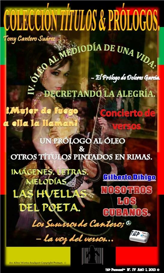 T&P – Personal - UN PRÓLOGO AL ÓLEO & OTROS TÍTULOS PINTADOS EN RIMAS. . Front Cover. by Eva Moreno & Tony Cantero Suárez