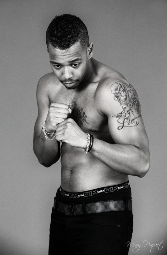 Boxing with the life - Chris by Mary Paquet for Tony Cantero Suárez
