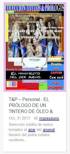 Cover icon T&P V