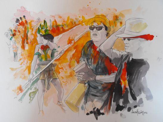 La fête by Vincent Tessier for Tony Cantero Suárez