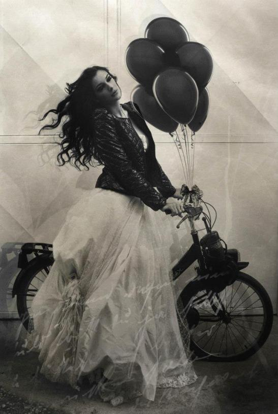 New romantic Dark Romance Mathilde Mess by Eva Moreno for Tony Cantero Suarez