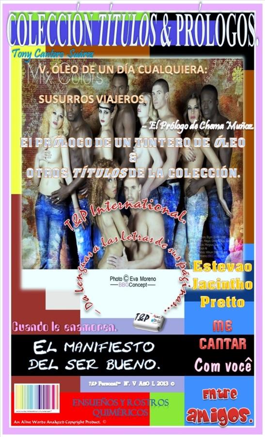 T&P – Personal - EL PRÓLOGO DE UN TINTERO DE ÓLEO & OTROS TÍTULOS DE LA COLECCIÓN. Front Cover. by Eva Moreno & Tony Cantero Suárez