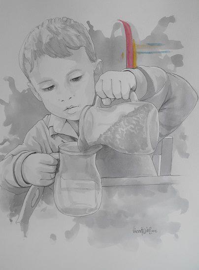 La jarra de las lagrimas par Vincent Tessier pour Tony Cantero Suárez
