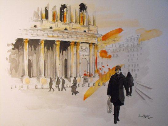 Place St Sulpice by Vincent Tessier for Tony Cantero Suárez