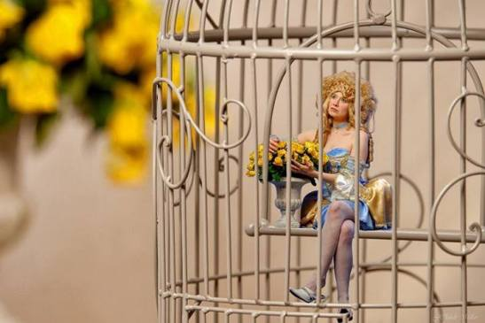 The little birdgirl Caya by JClaude Millar for Tony Cantero Suárez