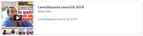 La Voz Hispana-enero 16-2014 revista versión impresa