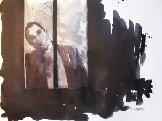 Le cadre noir à la fenetre by Vincent Tessier for Tony Cantero Suárez