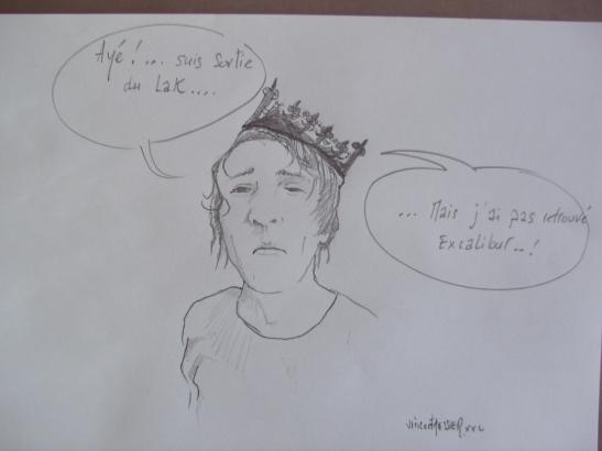 Le roi des fous pour Vincent Tessier for Tony Cantero Suárez