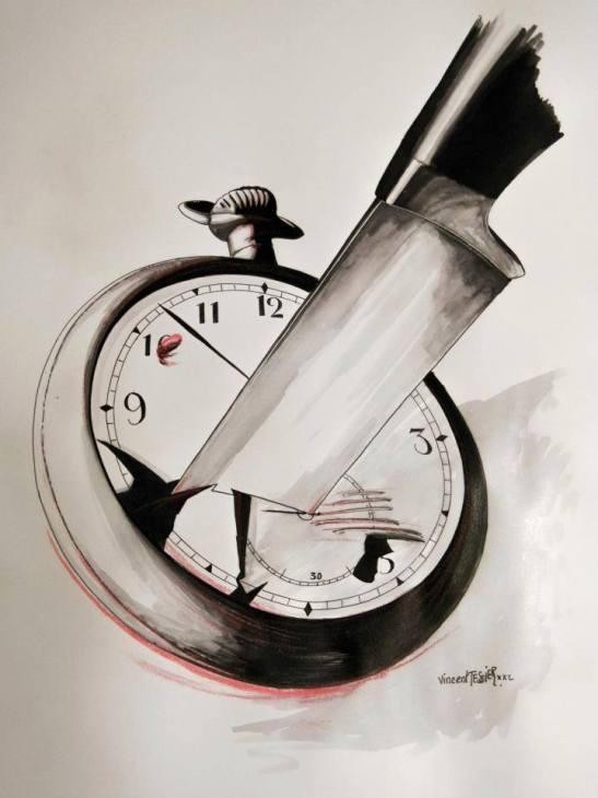 Le temps mort by Vincent Tessier for Tony Cantero Suárez.