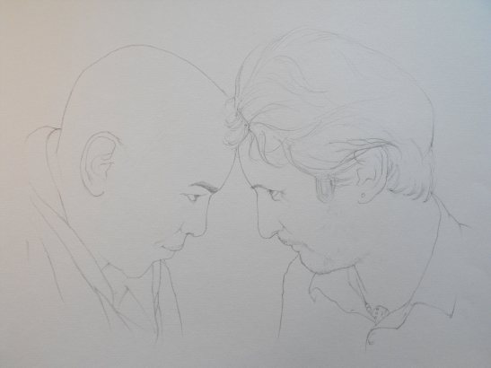 tony & vincent boceto
