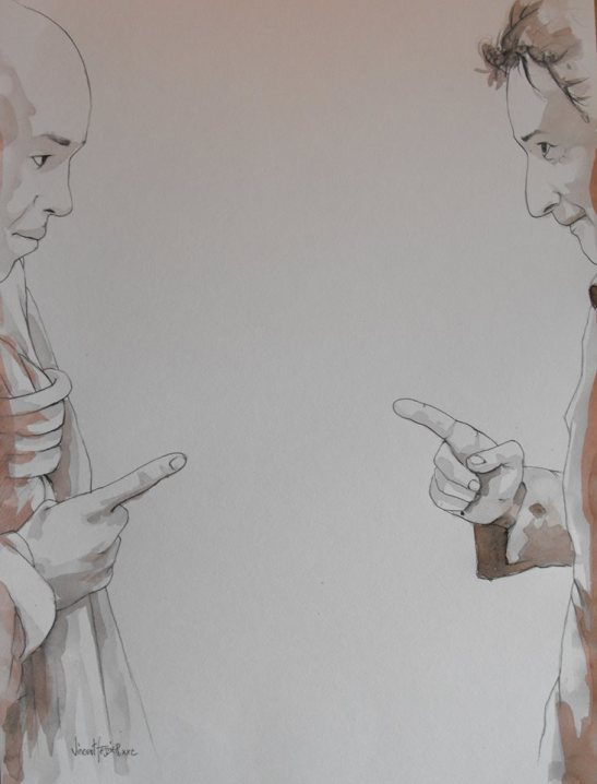 Des choses célèbres back cover image by Vincent Tessier for Tony Cantero Suárez