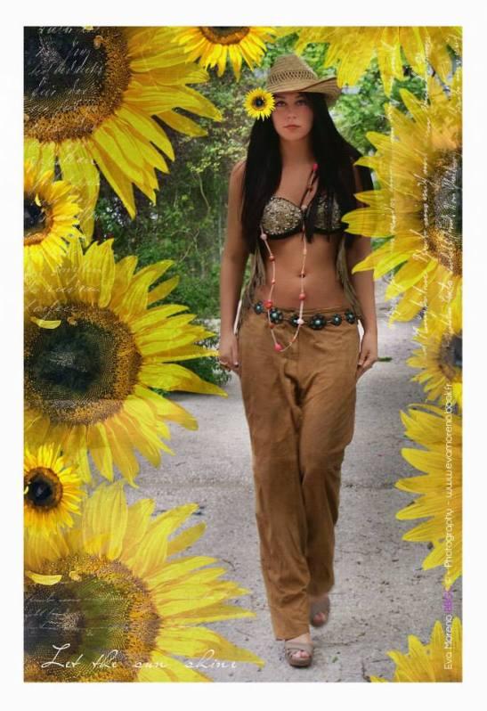 Les nouveaux romantiques Série Flower Power Let the sun shine II Lucie Gaille Strycharz Eva Moreno BBGC – Copyright for Tony Cantero Suárez