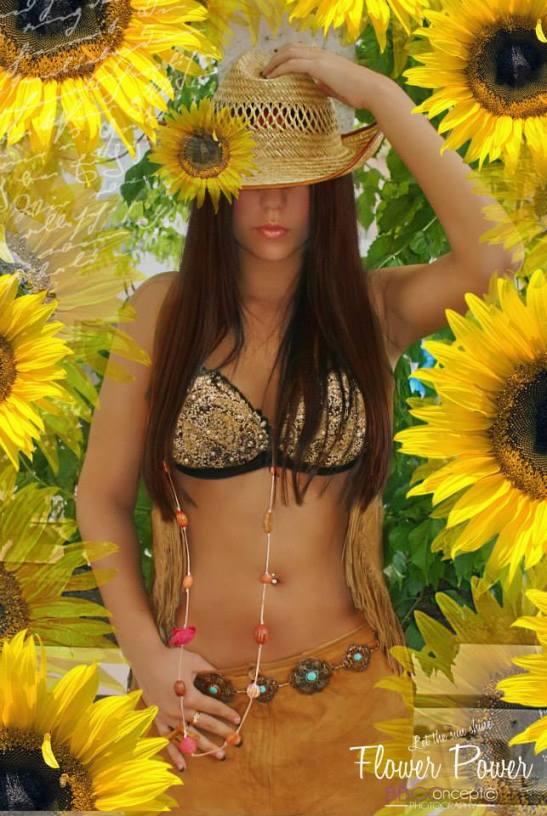 Les nouveaux romantiques Série Flower Power Let the sun shine Lucie Gaille Strycharz Eva Moreno BBGC – Copyright for Tony Cantero Suárez