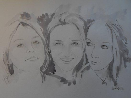 Les filles by Vincent Tessier for Tony Cantero Suárez