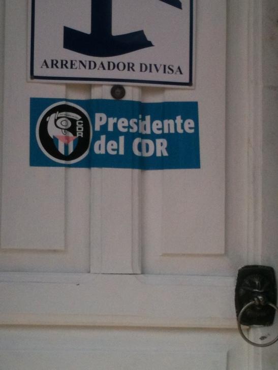 Presidente del CDR alquila casa a turistas en Cuba