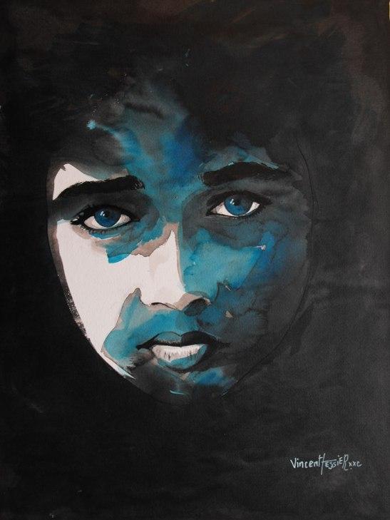 Un silence noir by Vincent Tessier for Tony Cantero Suárez