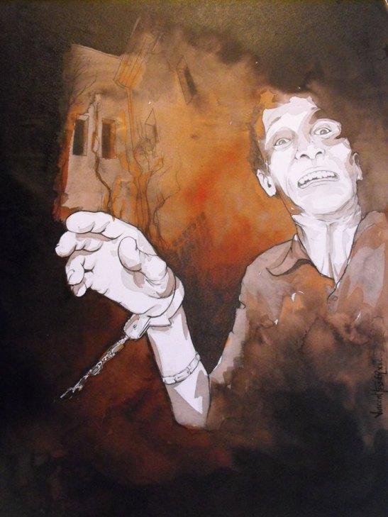 Atado al infierno by Vincent Tessier for Tony Cantero Suárez