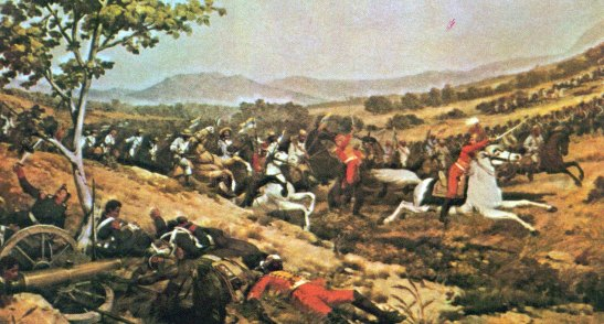 Bolívar salió con su ejército desde San Carlos  hacia Carabobo