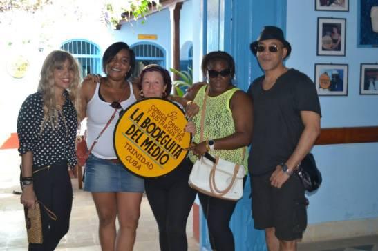 Con Yami en Trinidad