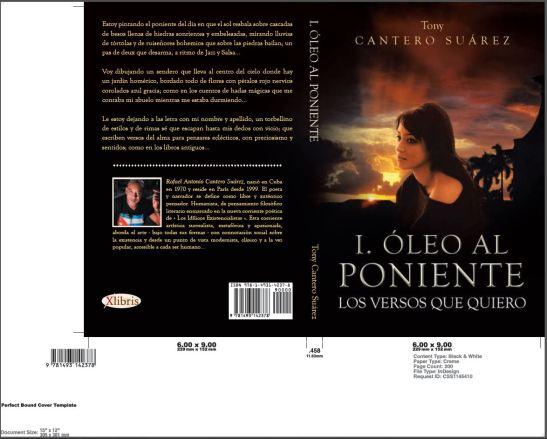 Couverture Oleo al Poniente by XLIBRIS