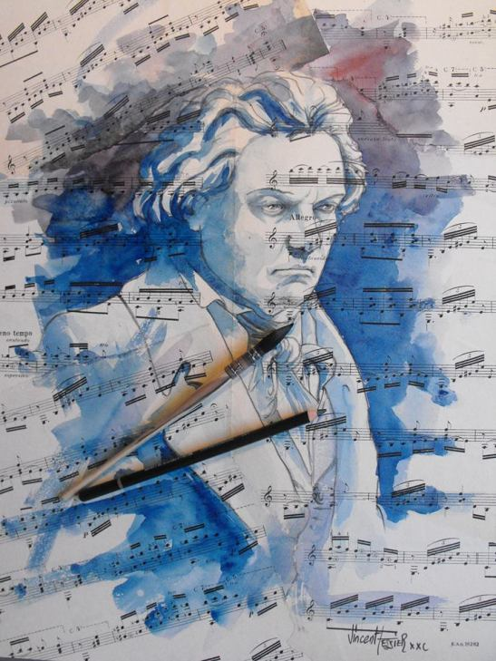 musica poesia & pintura by Vincent Tessier.