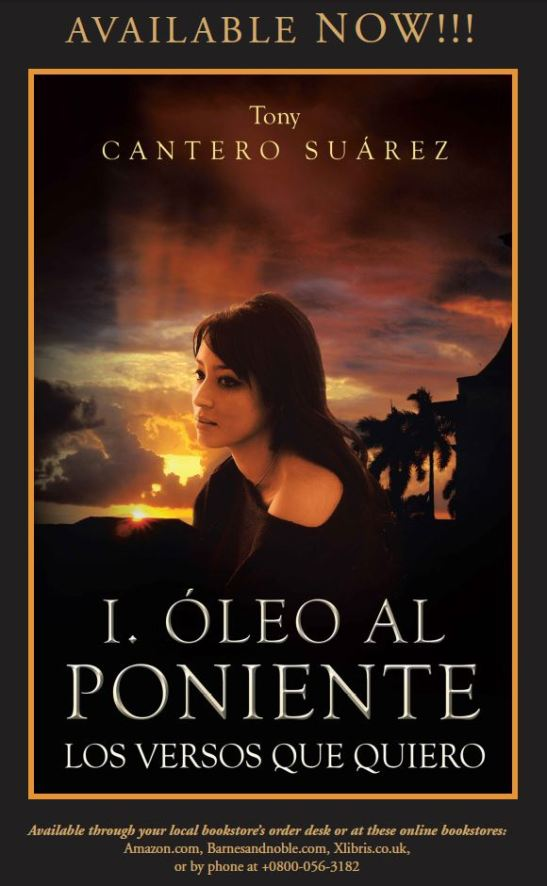 Afiche AVAILABLE NOW covert Oleo al Poniente XLIBRIS